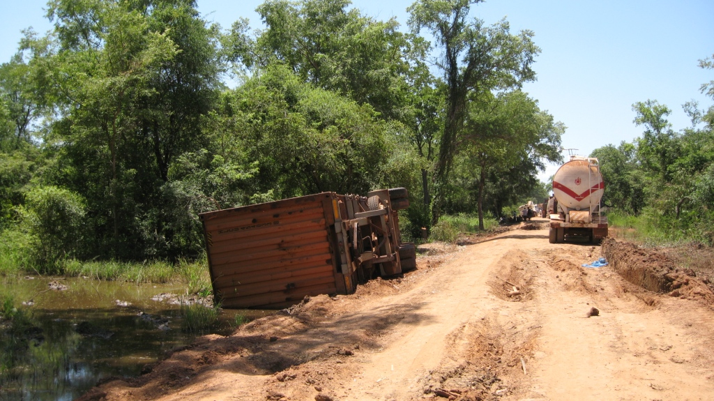 Bad Roads in Africa The Result of Bad Roads And a